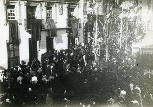 D. Manuel II saúda os Vianenses