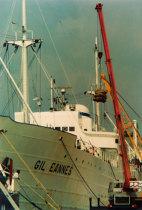 Navio Gil Eannes no porto de Viana do Castelo
