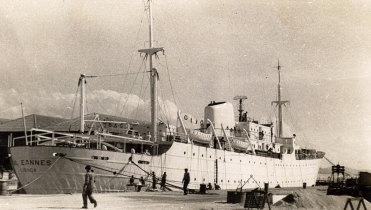 Navio Gil Eannes em fase de acabamentos