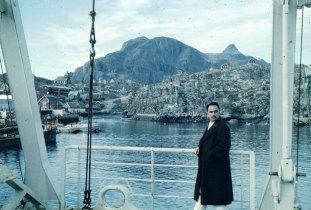 O Gil Eannes na Terra Nova.