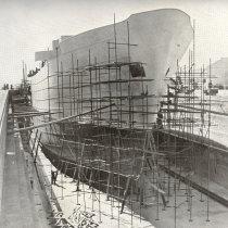 Navio Gil Eannes em construção