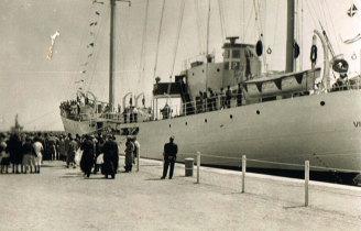 """Entrega ao armador do navio """"Alan Villiers"""""""