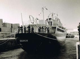 """Entrega ao armador do navio """"Cedros"""""""