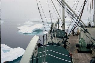 Navio Hospital Gil Eannes nos mares gelados da Gronelândia