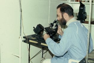 Laboratório de análises do navio hospital Gil Eannes