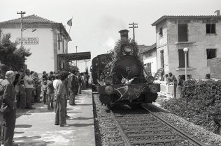 Passeio de Locomotiva a Vapor