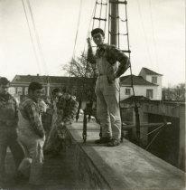 Alunos da Escola de Pesca