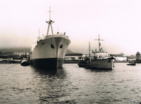"""Entrega do navio """"Lobito"""""""