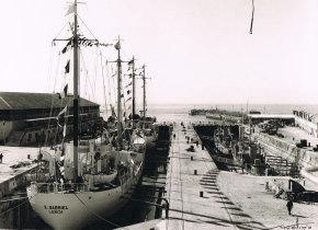 """Entrega do navio """"S. Gabriel"""""""