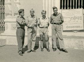Militares em Goa