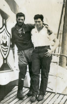 Valentim Gonçalves e amigo