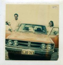 Adelino Gomes e esposa