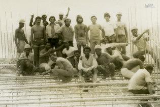 Trabalhadores no Gabão
