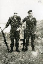 Militares em Noqui