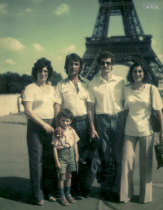 Amigos em Paris