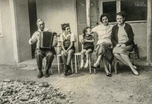 Família de emigrantes