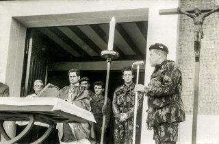 Despedida do Batalhão de Caçadores 2841