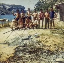Convívio de emigrantes na Córsega