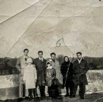 Grupo de emigrantes portugueses