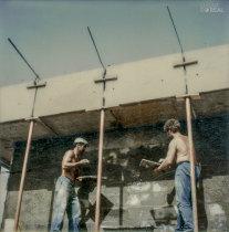 Trabalhos na construção civil