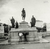 Praça Napoleão em Ajaccio