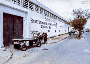 Transporte de materiais de construção