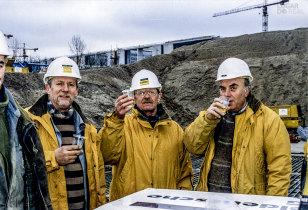 Construção do metro em Berlim