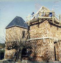 Trabalho no telhado