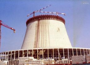 Construção da central nuclear de Cattenom
