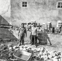 Emigrantes na construção civil
