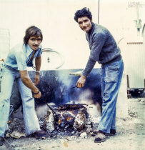 Manuel Fernandes e amigo