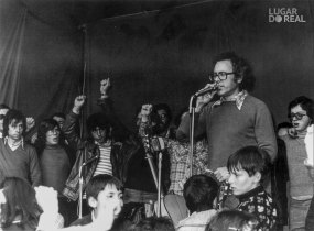 Festa do 1º de maio de 1978, com Zeca Afonso, em Viana do Castelo