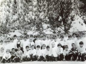 Turma da 1ª classe da Escola Primária de Esposende