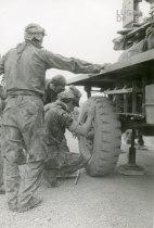 Troca de pneu