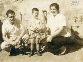 Manuel Ribas e família