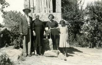 Isolina Lopes Pereira e familiares