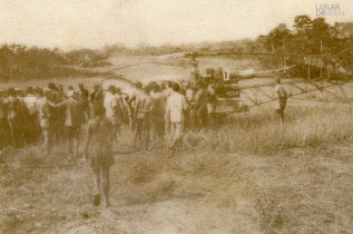 Militares e habitantes