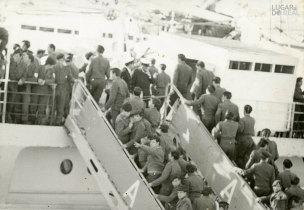 Embarque de militares