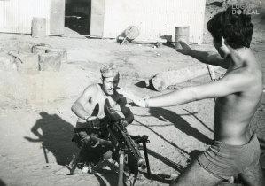 Militares da Companhia de Caçadores 3309