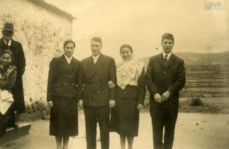 Casamento de Filomena Caldas e Armando