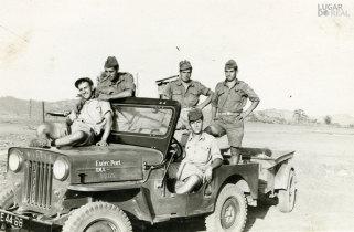 Militares em Cazombo