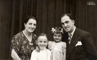 Henrique Pinheiro e família