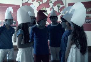 Os Smurfs em Viana